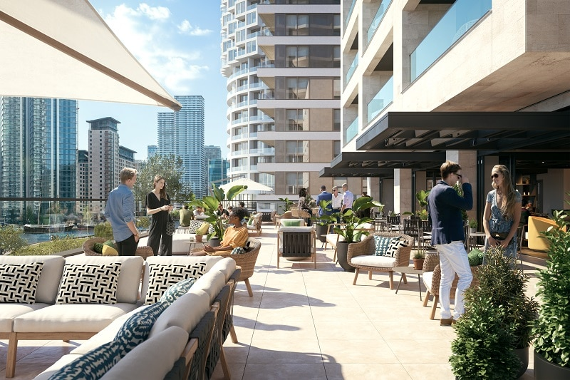 First build-to-rent development in Canary Wharf unveiled