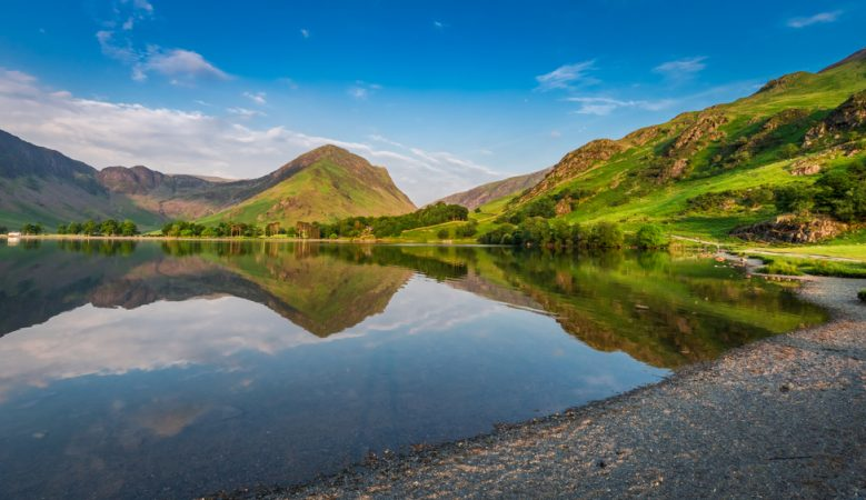 Lake District where Genesis are building